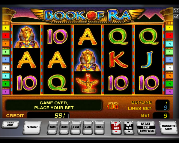 casino live online the book of ra