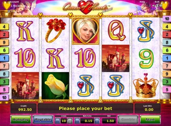 queen of hearts spielautomat
