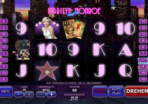 Marilyn Monroe Spielautomat