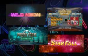 Die neuen Spiele von Push Gaming als Vorschau veröffentlicht