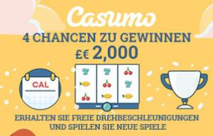Casumo bietet tolle Gewinnchancen - auch im November