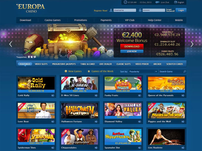 Internet Casino Kostenlos
