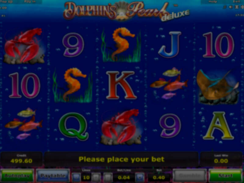 Dolphins Pearl Deluxe Spielautomat kostenlos spielen