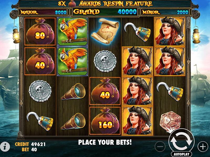 Pirates Gold Spielautomat kostenlos spielen