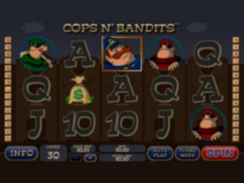 Cops & Bandits Spielautomat kostenlos spielen