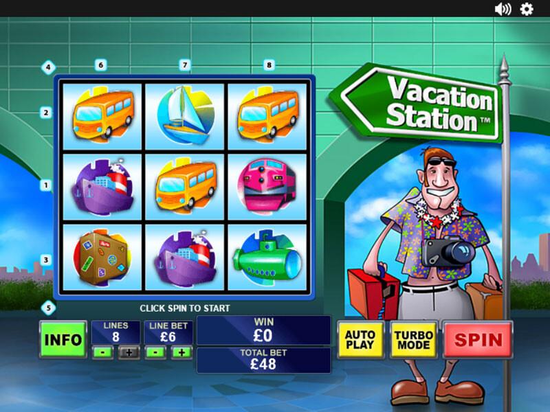 Vacation Station Spielautomat kostenlos spielen