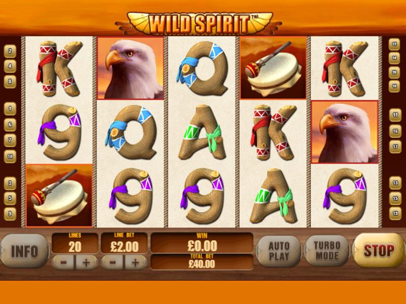 Wild Spirit Spielautomat kostenlos spielen