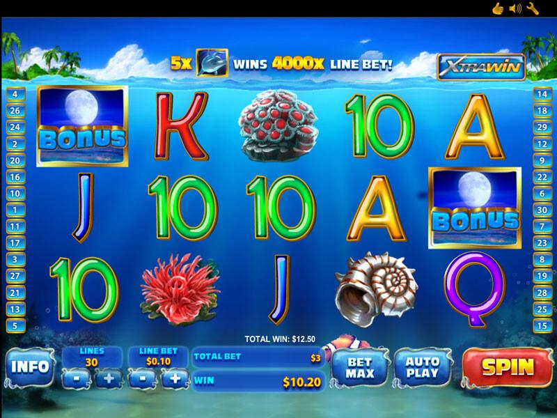 Dolphin Cash Slots Spielautomat kostenlos online spielen