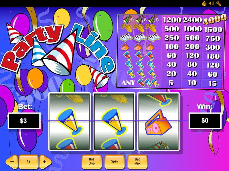 Party Line Spielautomat kostenlos spielen